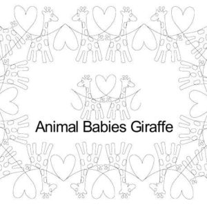A B Giraffe border set.jpg