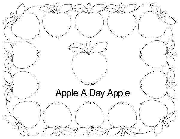 Apple A Day Apple border set.jpg