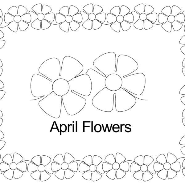April Flowers border set.jpg