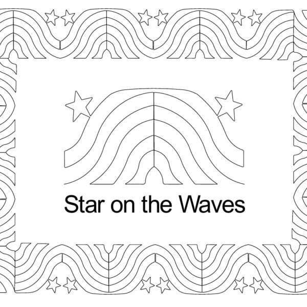 Star on the Waves border set.jpg