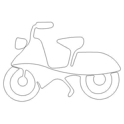 Viva La France Scooter motif.jpg