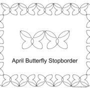 April Butterfly stopborder border set.jpg