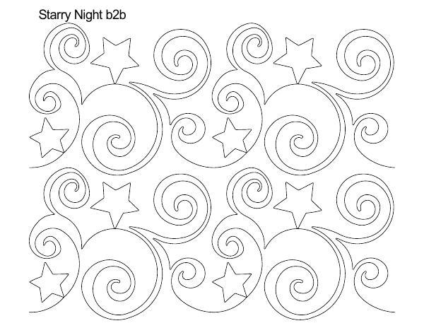 Starry Night b2b – Anne Bright Designs