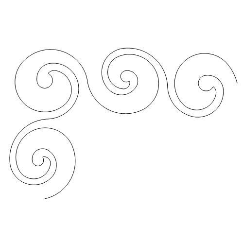 simple swirl svg - 500×500